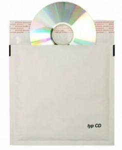Bublinková obálka na CD